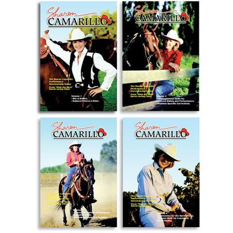 DVD, Sharon Camarillo Performance Horsemanship Series, 4 volumes