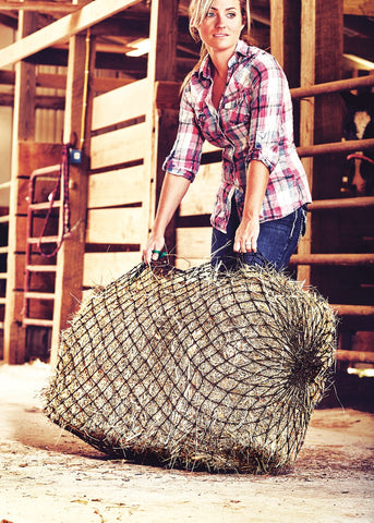 Texas Hay Net, Square Bale
