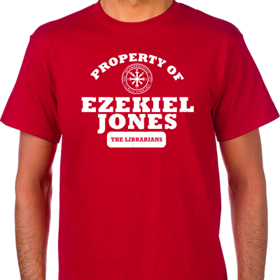 Property of Ezekiel Jones