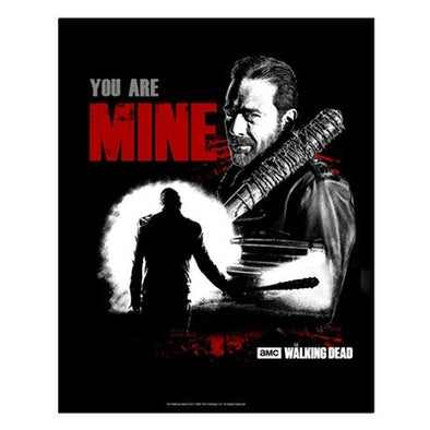 Negan You Are Mine Small Poster