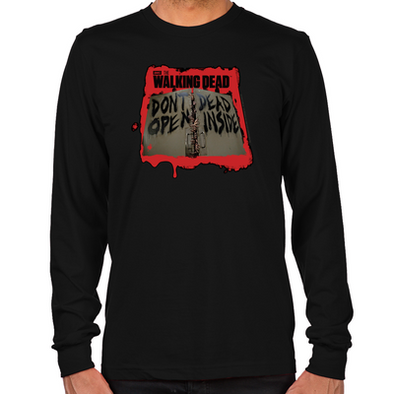 Don't Open Dead Inside Long Sleeve T-Shirt