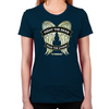 Daryl Dixon Wings Women's Fitted T-Shirt