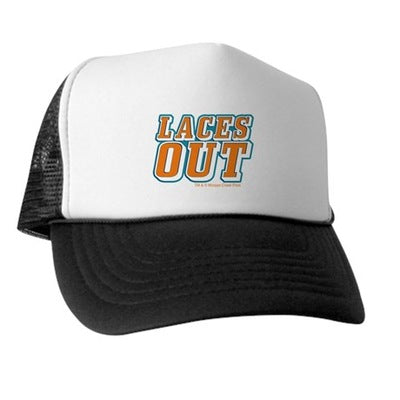 Ace Ventura Laces Out Trucker Hat