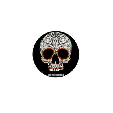 Day of The Dead Skull Mini Button