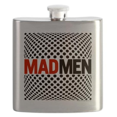 Mad Men Pop Art Flask