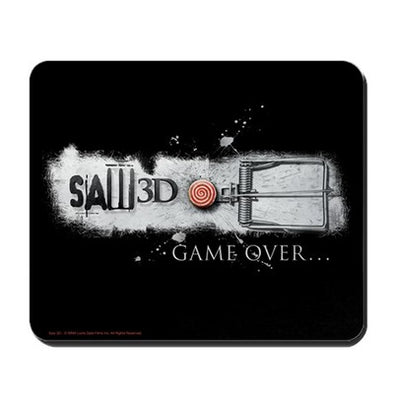 Saw Game Over Mousepad