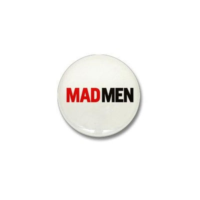 Mad Men Logo Mini Button