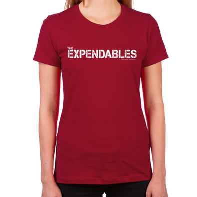 The Expendables Women's Fitted T-Shirt