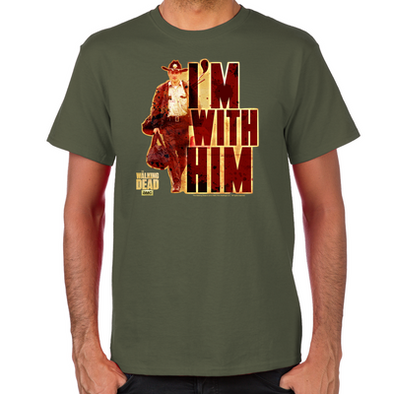 I'm With Him T-Shirt