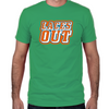 Ace Ventura Laces Out Fitted T-Shirt