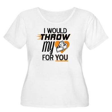 Throw My Pie For You Women's Plus Size T-Shirt