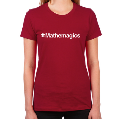 #Mathemagics Women's Fitted T-Shirt