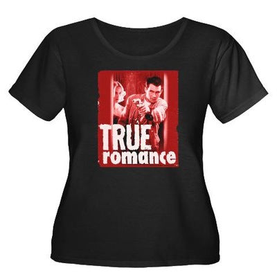 True Romance DVD Cover Women's Plus Size T-Shirt
