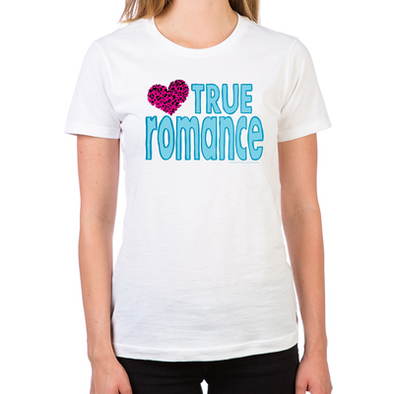 True Romance Women's Fitted T-Shirt