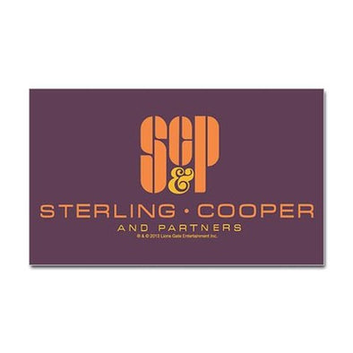 SCP Mad Men Logo Sticker