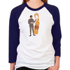 Mad Men Salvatore Women's Baseball T-Shirt