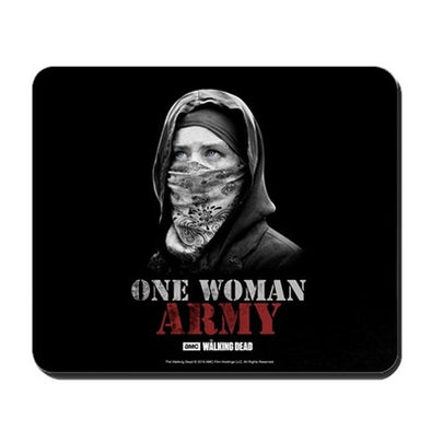 One Woman Army Mousepad