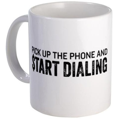 Wolf of Wall Street Pick Up the Phone Mug