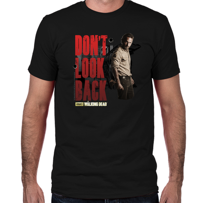 Rick Don't Look Back Fitted T-Shirt