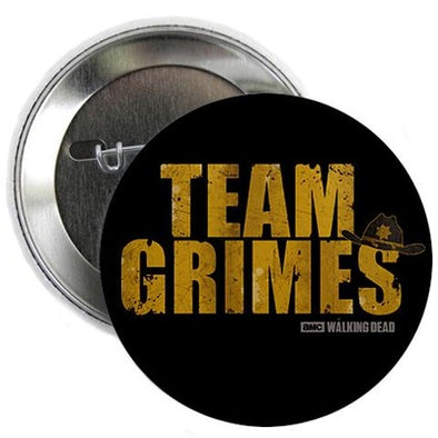 "Team Grimes 2.25"" Button"
