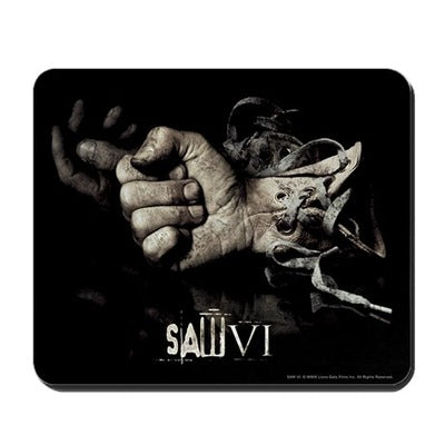 Saw Glove Mousepad