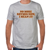 No More Rhymes Fitted T-Shirt