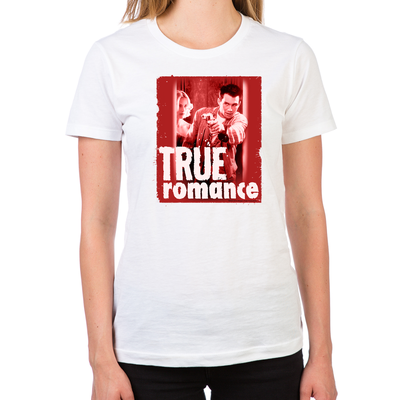True Romance DVD Art Women's T-Shirt
