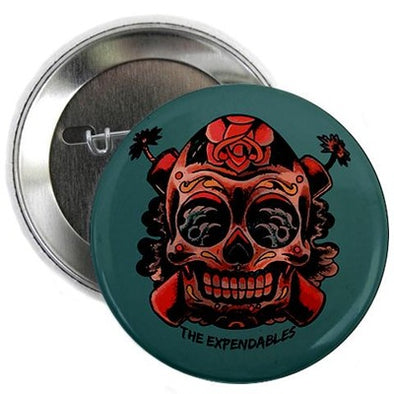 "Skull TNT 2.25"" Button"
