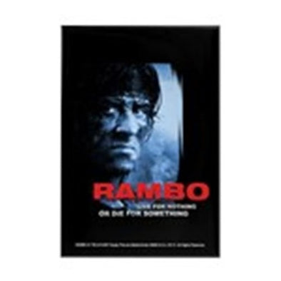 Rambo Die For Something Magnet