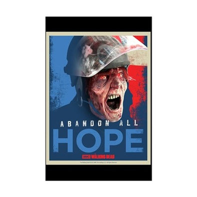 Abandon Hope Mini Poster Print