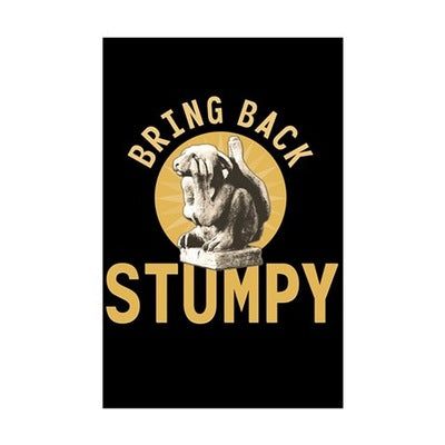 Stumpy Mini Poster