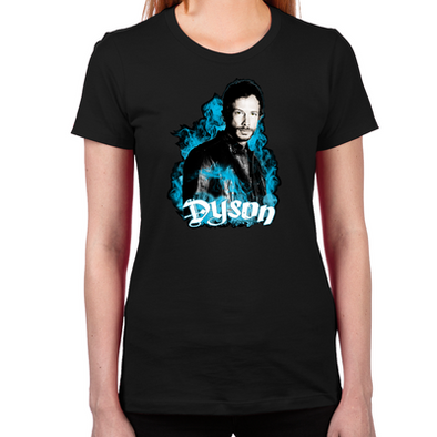 Lost Girl Dyson the Wolf Women's Fitted T-Shirt