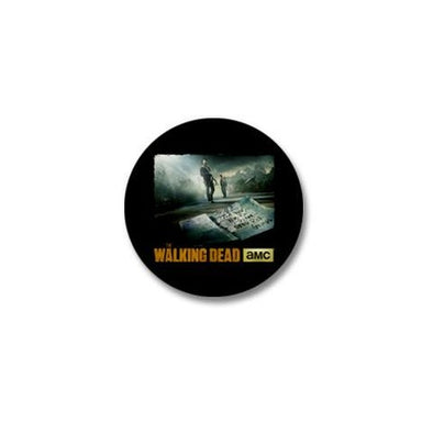 Walking Dead New World Needs Rick Grimes Mini Button