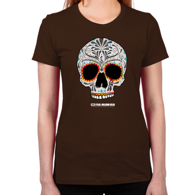 Day of the Dead Skull Women's T-Shirt