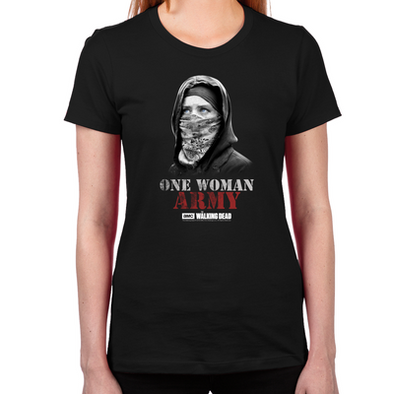 One Woman Army Women's Fitted T-Shirt