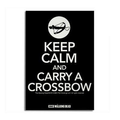 Keep Calm Carry a Crossbow Magnet – Gold Label c1fba05015