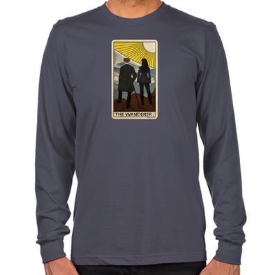 Lost Girl Wanderer Tarot Long Sleeve T-Shirt
