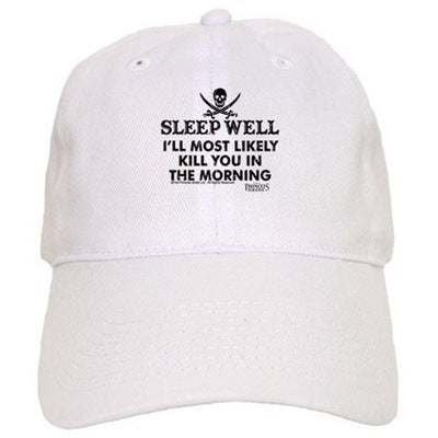 Sleep Well Baeball Cap