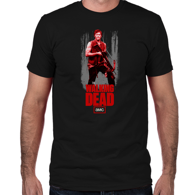 Daryl Dixon Crossbow Fitted T-Shirt