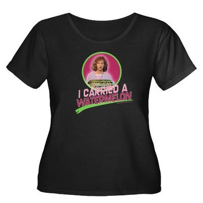 Dirty Dancing I Carried a Watermelon Women's Plus Size T-Shirt