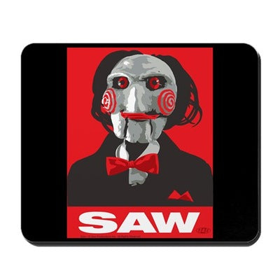Saw Clown Mousepad