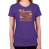Mawidge Speech Women's Fitted T-Shirt
