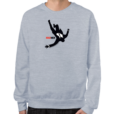 Falling Mad Men Sweatshirt