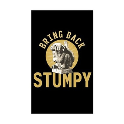 Stumpy Sticker