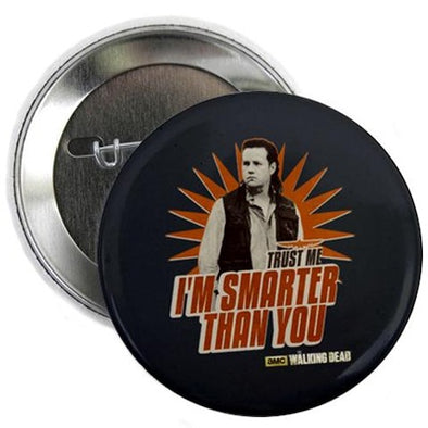 "Eugene Smarter Than You 2.25"" Button"