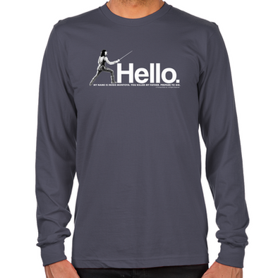 Inigo Montoya Long Sleeve T-Shirt