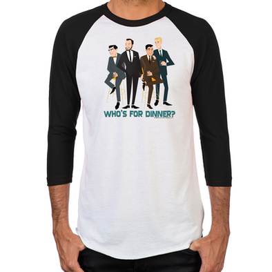 Mad Men Philanderers Men's Baseball T-Shirts