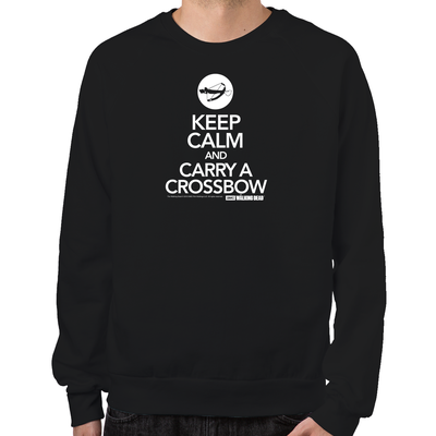 Keep Calm and Carry a Crossbow Sweatshirt