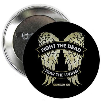 Daryl Dixon Wings Button