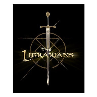 The Librarians Excalibur Small Poster